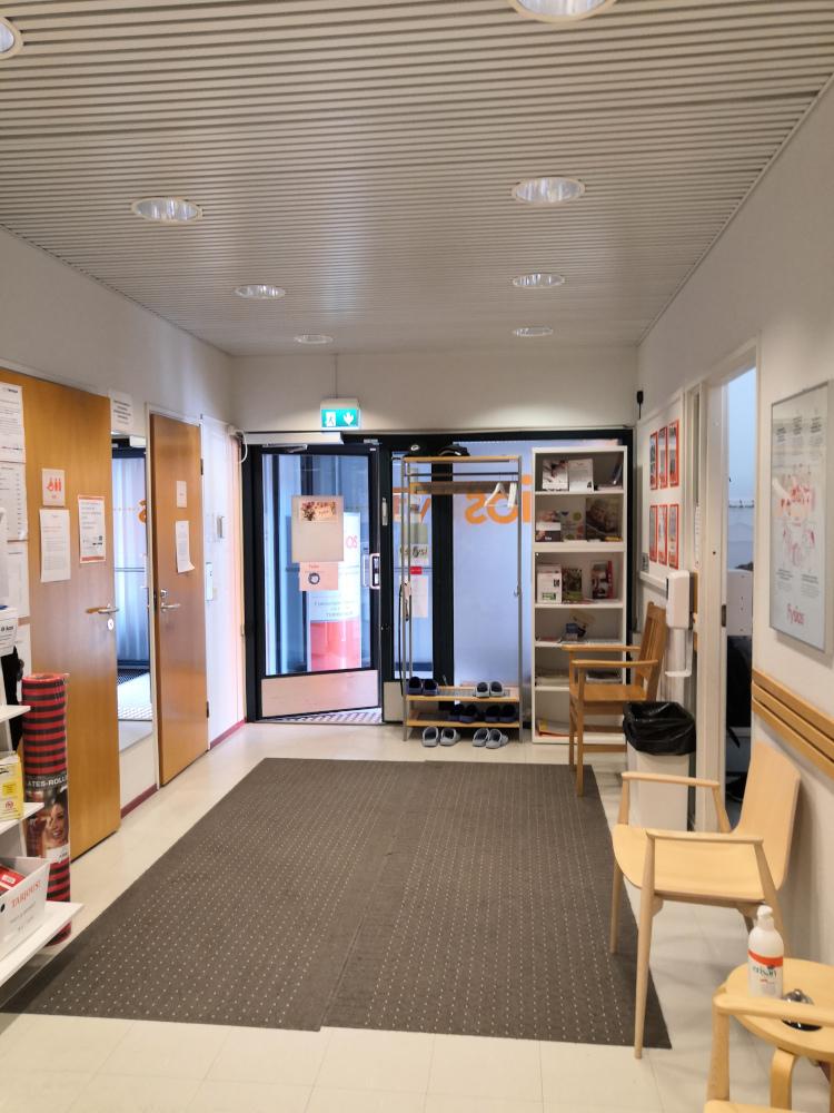 Fysios Lappeenranta Sammonlahti sisäänkäynti