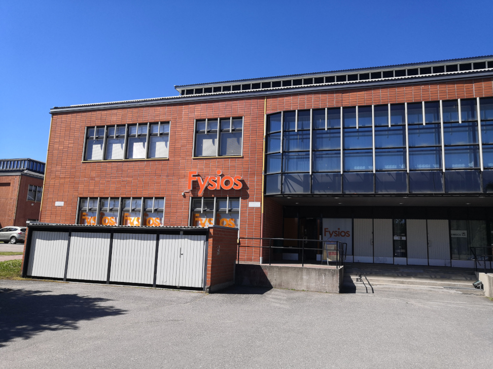 Fysios Lappeenranta Sammonlahti julkisivu ja ulko-ovi