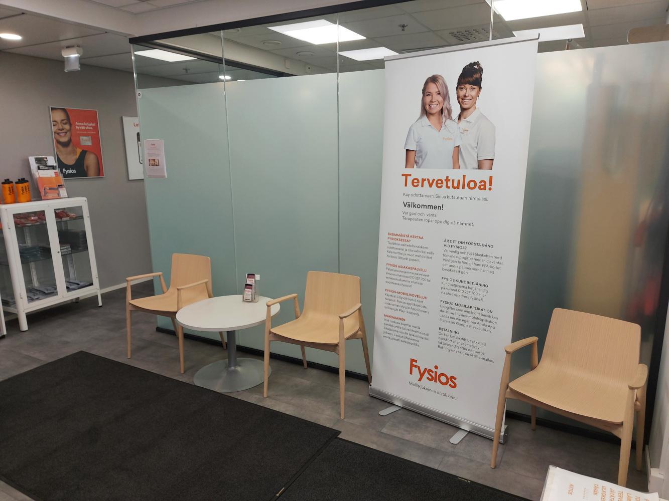 Fysios Espoo Tapiola Spektri aula